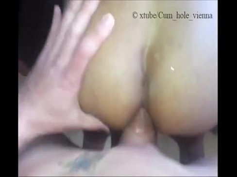 Big black cock balls deep in amateur brunette