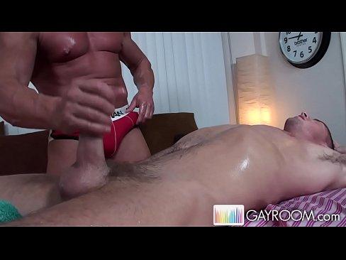 Jayden ass massaged