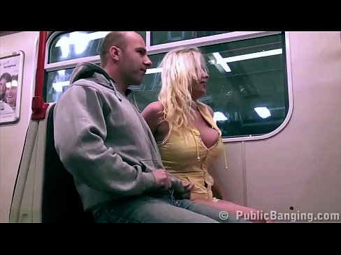 Sex on a subway something is