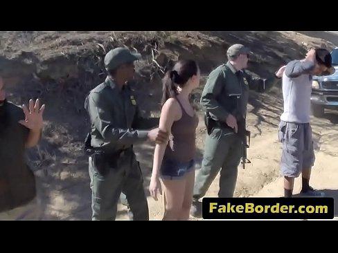 Latina cock sucking border agents picture 492