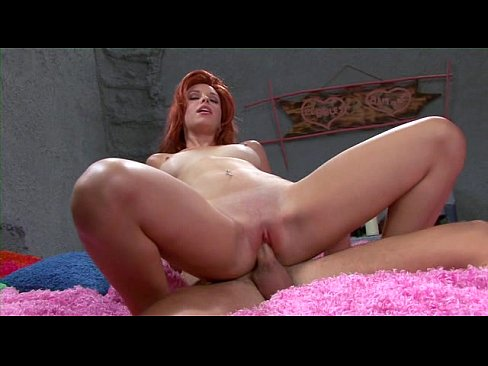 Sexy brunette gets fucked hard