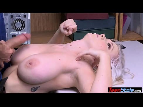 Busty blonde suspect fucked her way out of trouble