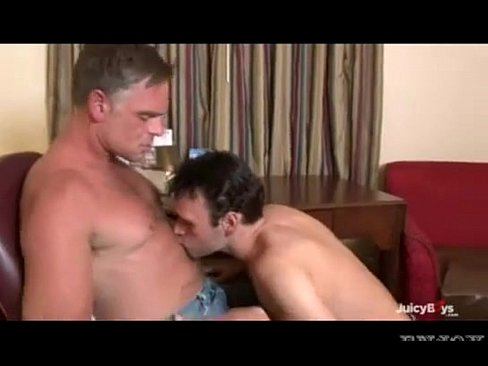 Daddy and son fuck bareback