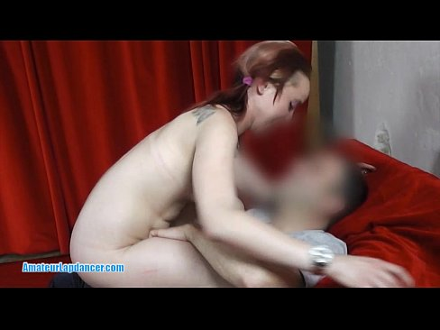 19yo brunette lapdances for young guy and gives him bj 8