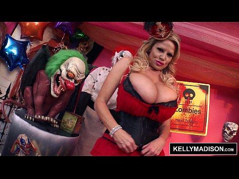 clown Big tits