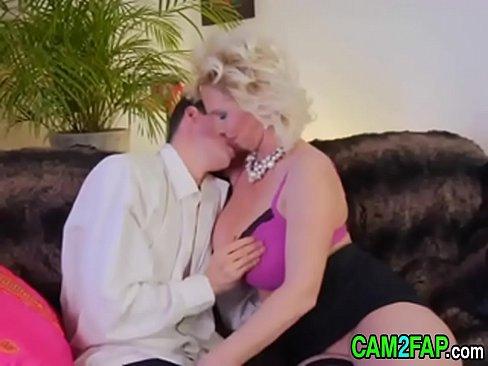 Busty Blonde MILF Free Busty MILF Porn Video