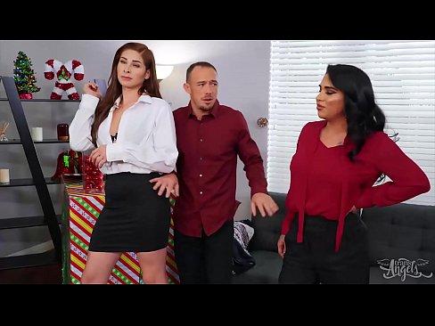 TS Babes (Alexa Scout, Jane Marie) Fucking Kirks Ass In 3some - Transangels