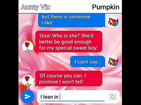 aunty vix and pumpkin sext roleplay part one