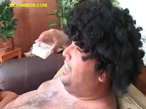 Luscious dude giving head