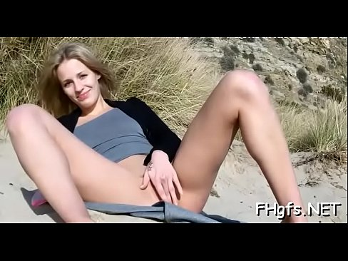 Romantic playgirl has wet pussy