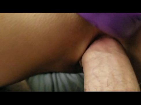 stor dildo i puss