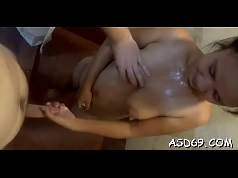 Nasty asian slut in a sexy action