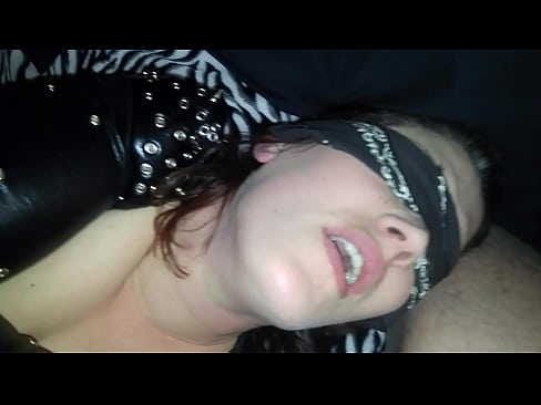 amateur wife surprized tied up ffm sex