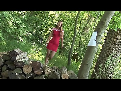 Anal in the woods