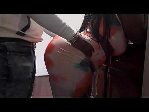 sexy ebony twerks for rent money