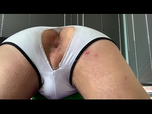 Face down ass up, Gage Santoro waits for the next nut