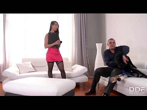 Asian Secretary Sharon Lee gets Double Penetrated in the Office