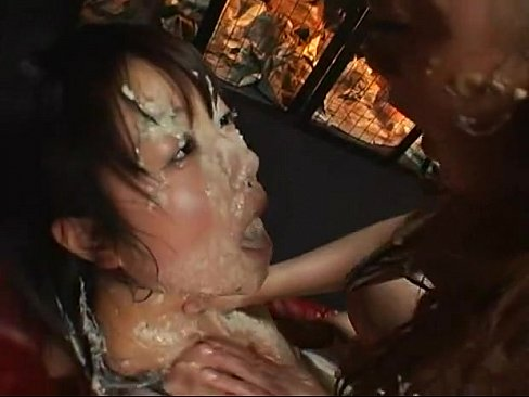 Japanese girls puking and having sex, bitch suck tits