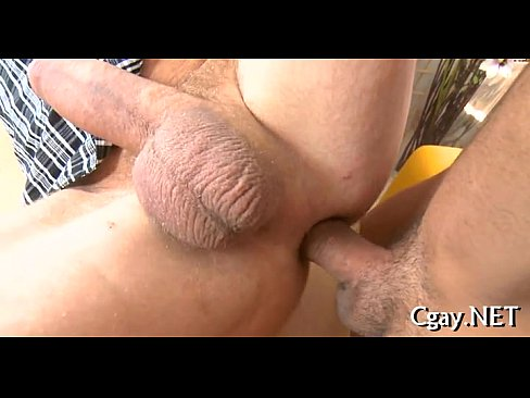 Indecent anal drilling