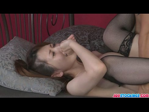Yui hatano gives an asian blowjob and gives up her pussy in a threesome