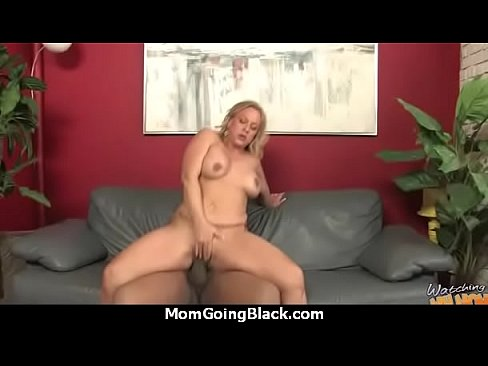 Mature Mom Barely Takes 10 Inch Black Cock 18