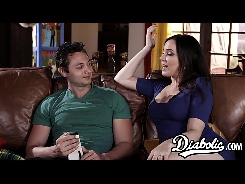 Busty MILF Fucked In Many Poses By Hung Stepson