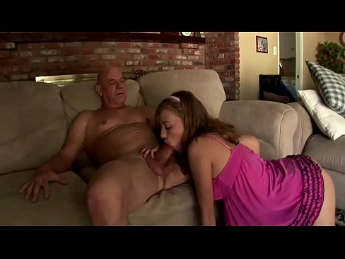 Grandpa Fucks Blonde Teen