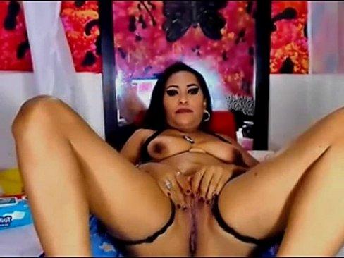 Natural latina pussy