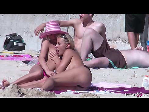 Gay sex am strand