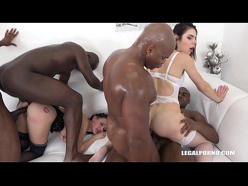 interracial orgie