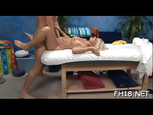 hot 18 year old cutie gets fucked hard from behind by her massage therapist
