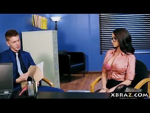 Anal sex in office