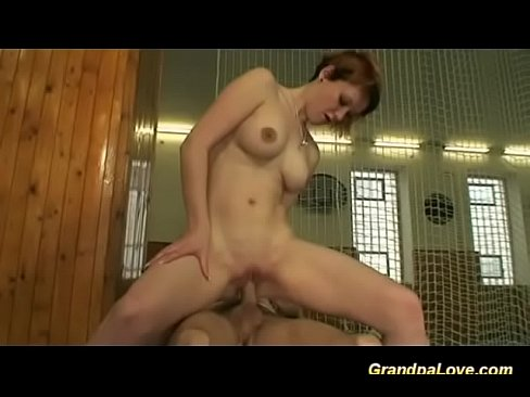 Teen gets fucked by her old trainer