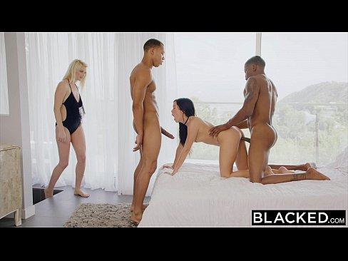 Wifes surprise interracial fuck