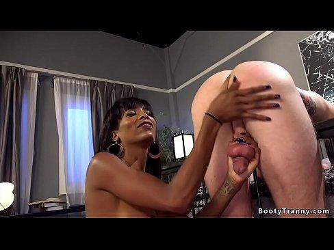 Black tranny anal fucks bffs husband