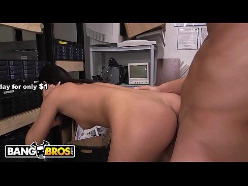 XVIDEO BANGBROS - Sexy Petite Asian Teen Alina Li Hired To Fuck On Backroom Facials!