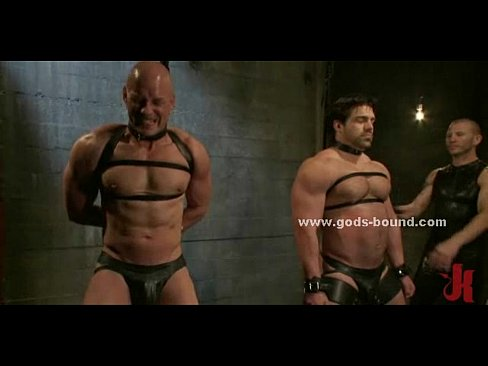 Gay men sex toys leather