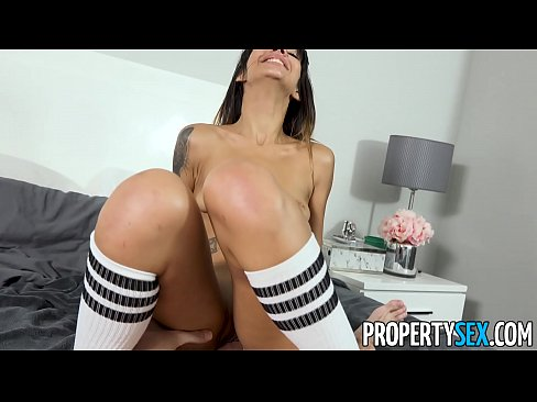 PropertySex - Shady babe with tight body fucked hard by roommate'_s big dick's Thumb