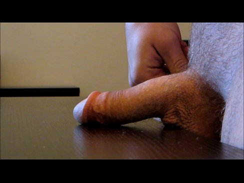 Jacking Off A Big Cock