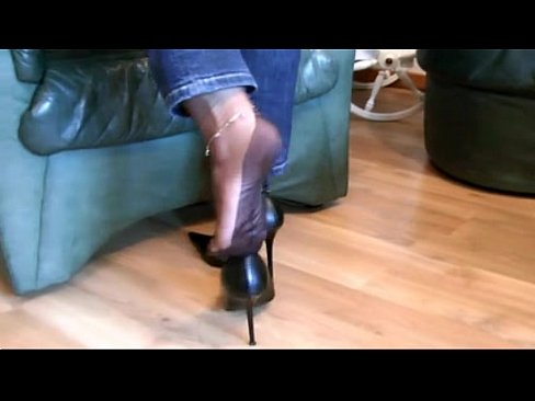 Mature Lesbian Nylon Feet