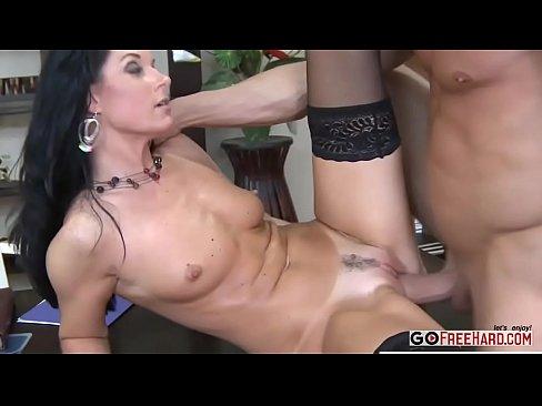 sexig ung svart Porr