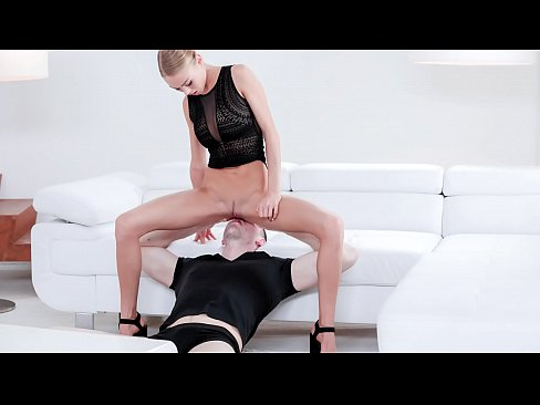 FACE STRAPPED - Face riding with hottie Nancy A