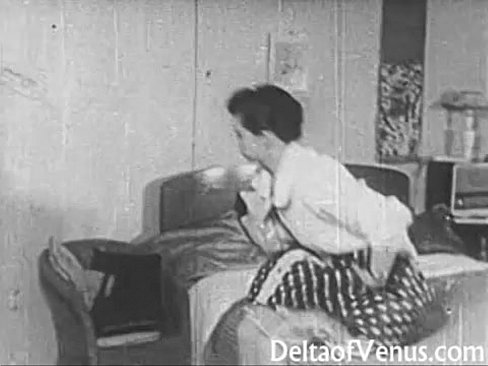 Vintage Erotica 1950s – Voyeur Fuck – Peeping Tom