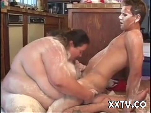 Ssbbw suck and bouce on bbc