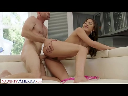 Naughty America Asian Babe, Jenna Rain, Takes Advantage of Her Friend's Dad