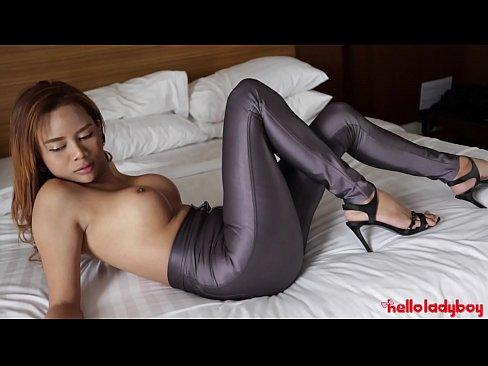 HELLOLADYBOY Hot Busty Asian Beauty Penetrated By Bar Date