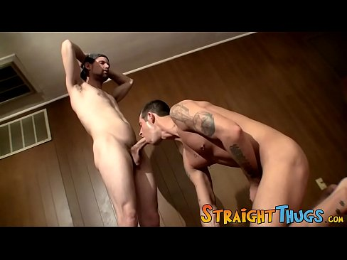 Huge cock being sucked off