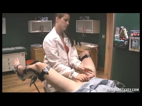 nurse is given the biggest semen sample across face