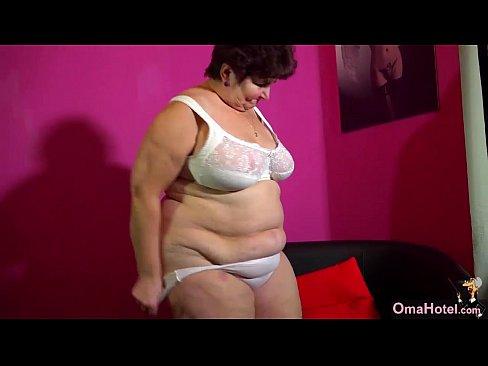 Fat oma sex video