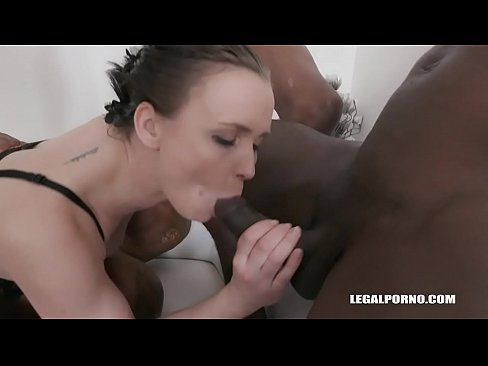 Ally Styles Enjoys 2 Cocks and Pissing